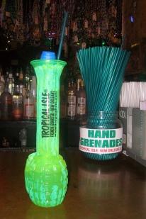 tropical isle hand grenade