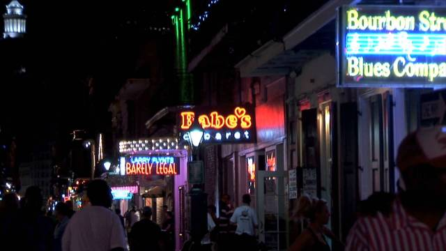 Babe's Cabaret on Bourbon Street in New Orleans