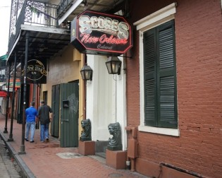 Scores Mansion on Bourbon Street in New Orleans